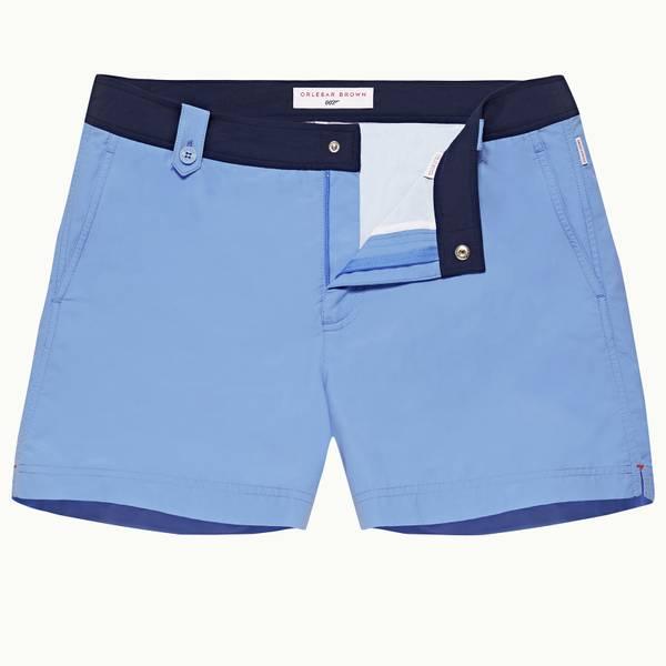 Thunderball Swimshort 007 系列短款游泳短裤 - 海滨蓝/海军蓝