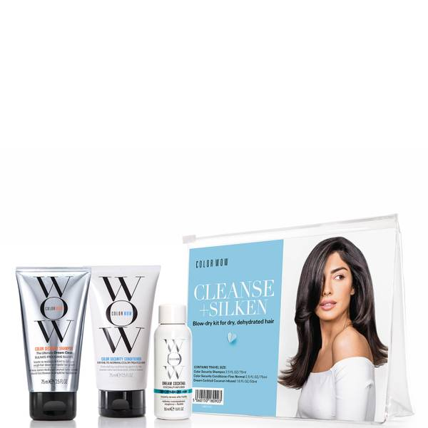 Color WOW Cleanse and Silken Blow-Dry Kit
