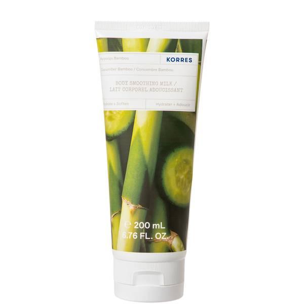 KORRES Cucumber Bamboo Body Smoothing Milk 200ml