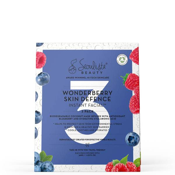 Seoulista Beauty Wonderberry Instant Facial Pack (Pack of 3)