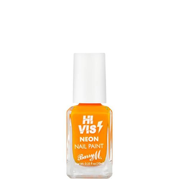 Barry M Cosmetics Hi Vis Nail Paint - Amber Warning 10ml