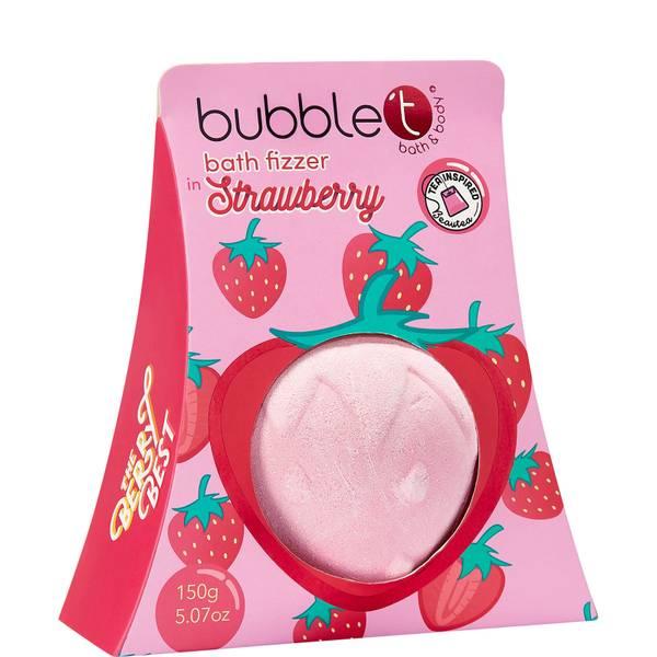 Bubble T Bath Fizzer - Strawberry 150ml