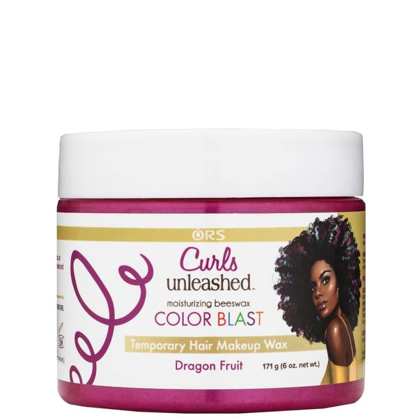 ORS Curls Unleashed Colour Blast Temporary Hair Makeup Wax - Dragon Fruit