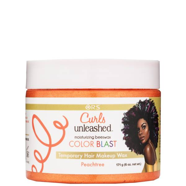 ORS Curls Unleashed Colour Blast Temporary Hair Makeup Wax - Peachtree