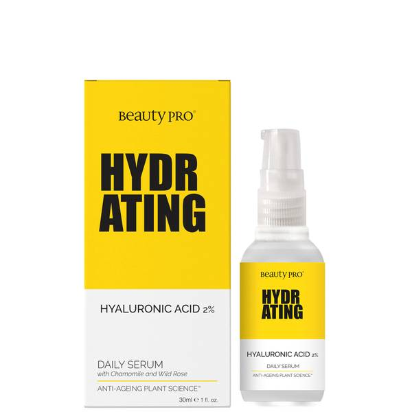 BeautyPro Hydrating 1% Hyaluronic Acid Daily Serum 30ml