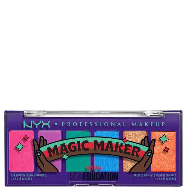 "NYX专业彩妆x Netflix的性教育限量版 ""魔术师 ""阴影盘"