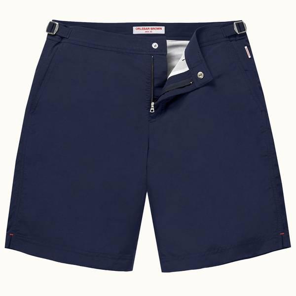 Dane 系列最长款游泳短裤 - 海军蓝