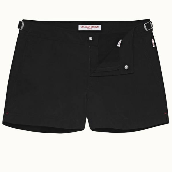 Springer 系列最短款游泳短裤 - 黑色
