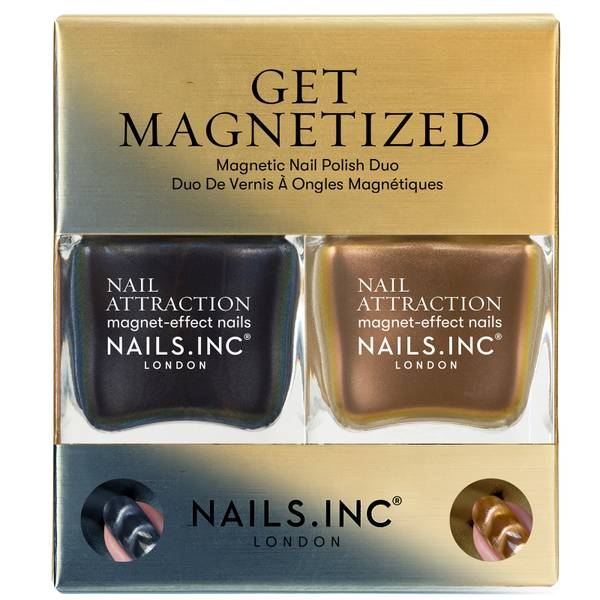 nails inc. Get Magnetised Duo