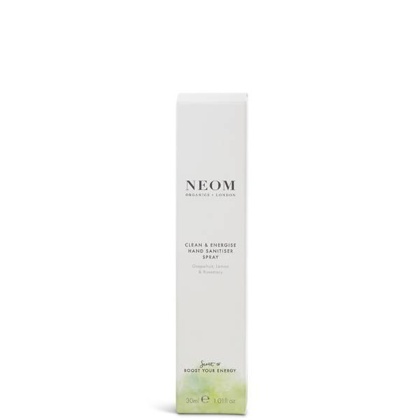 NEOM Clean & Energise Hand Sanitising Spray 30ml