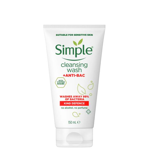 Simple Kind Defence Anti-Bac Cleansing Wash 150ml