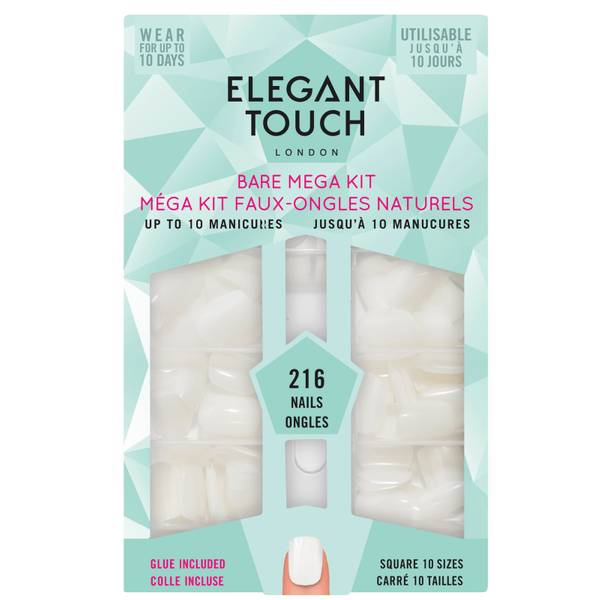 Elegant Touch Bare Bumper Kit Square 216 Pieces