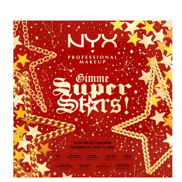 NYX Professional Makeup 圣诞倒数日历(价值约956元)