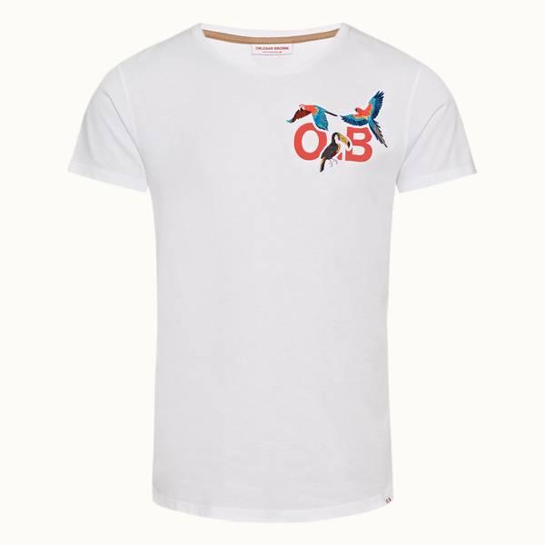Ob-T 系列丛林奇境印花定制款圆领 T 恤