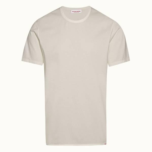 Nicolas Binding 宽松款棉质 T 恤 - 纯白色