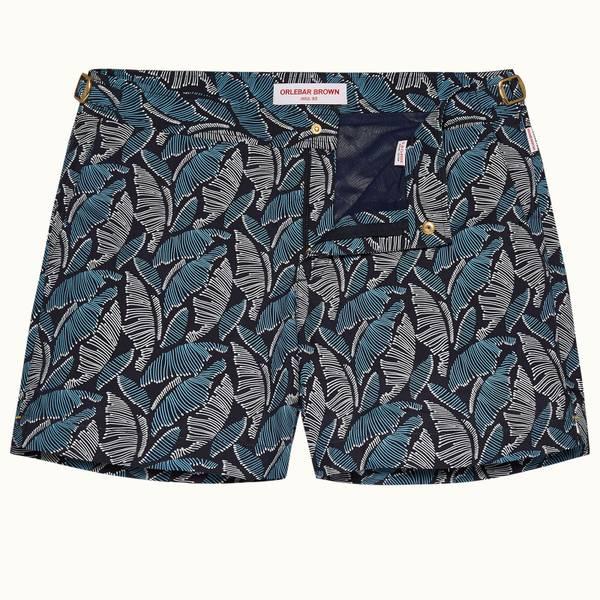 Setter 系列 Mantaro 印花短款游泳短裤 - 玛雅蓝色/海军蓝色