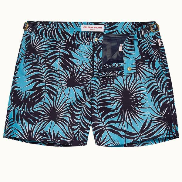 Setter 系列 Magellan 印花短款游泳短裤 - 玛雅蓝色/海军蓝色