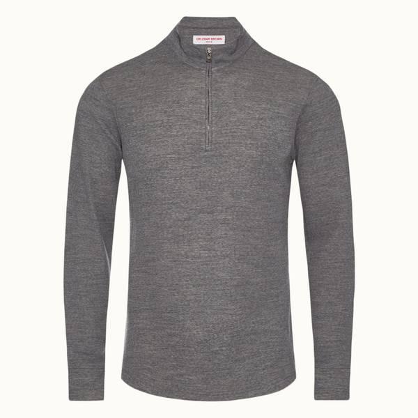 Neilson Merino 系列定制款双面美利奴运动衫 - 风暴灰色