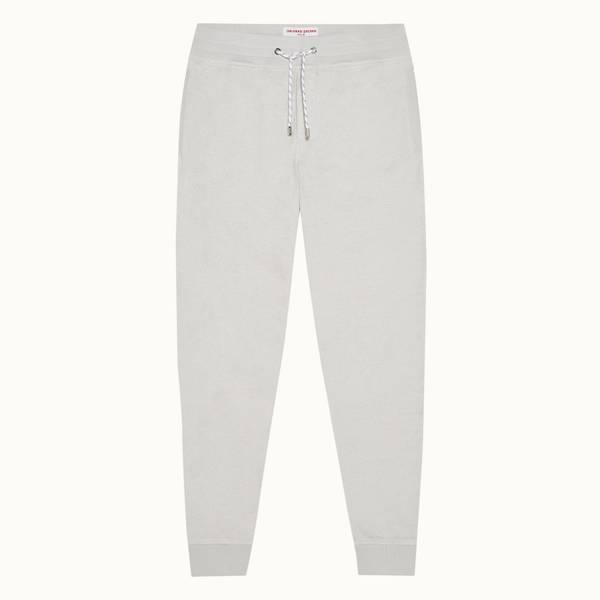 Beagi Towelling 系列经典款双面毛巾布运动裤 - 浅灰色