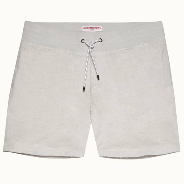 Afador Towelling 系列经典款双面毛巾布运动短裤 - 月光色