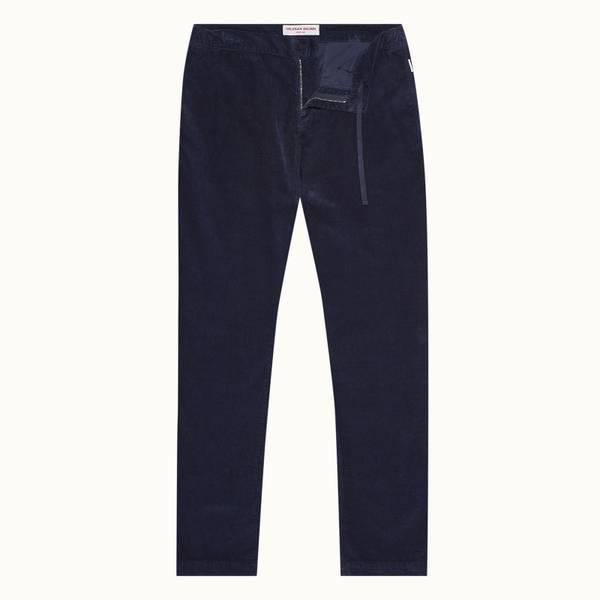 Telford Corduroy 系列定制款灯芯绒长裤 - 海军蓝色