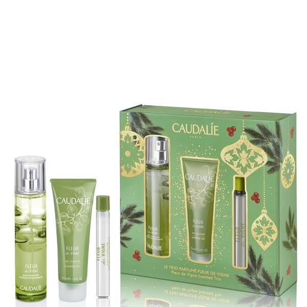 Caudalie Fleur De Vignes香氛和身体三重奏套装