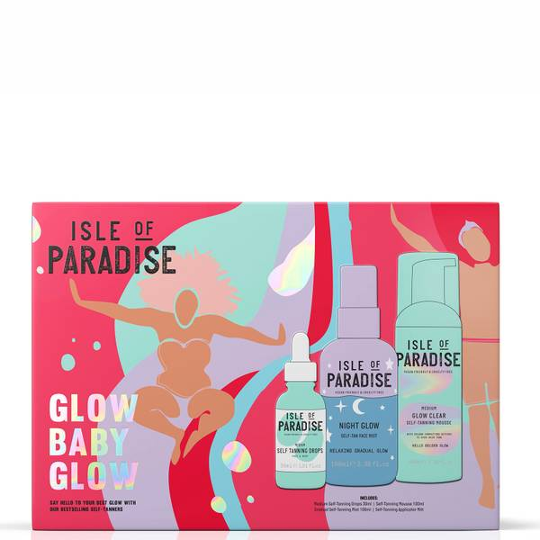 Isle of Paradise Glow Baby Glow Kit