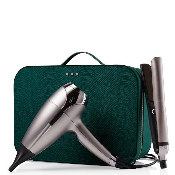 ghd 限量版铂金+定型器和Helios吹风机套装