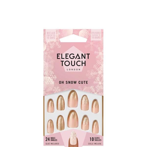Elegant Touch False Nails - Oh Snow Cute