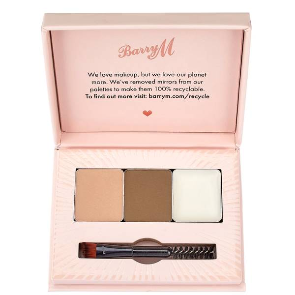 Barry M Cosmetics Fill and Shape Brow Kit (Various Shades)