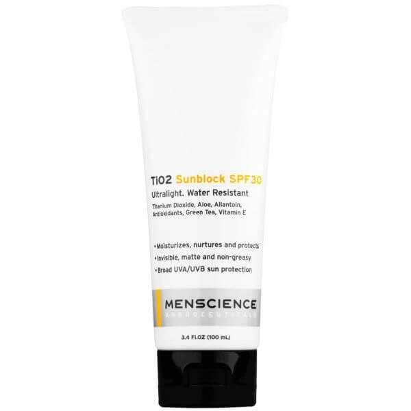 防晒系数为 30 的 Menscience Tio2防晒霜(113.4克)