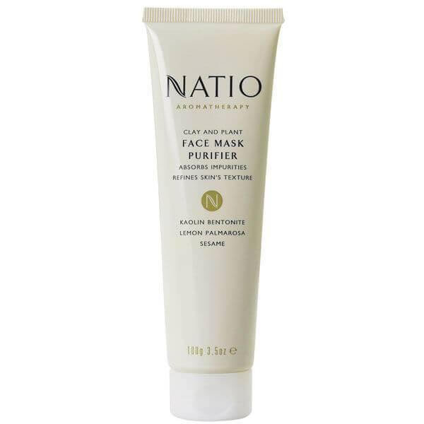 Natio 黏土草本紧肤面膜 100g
