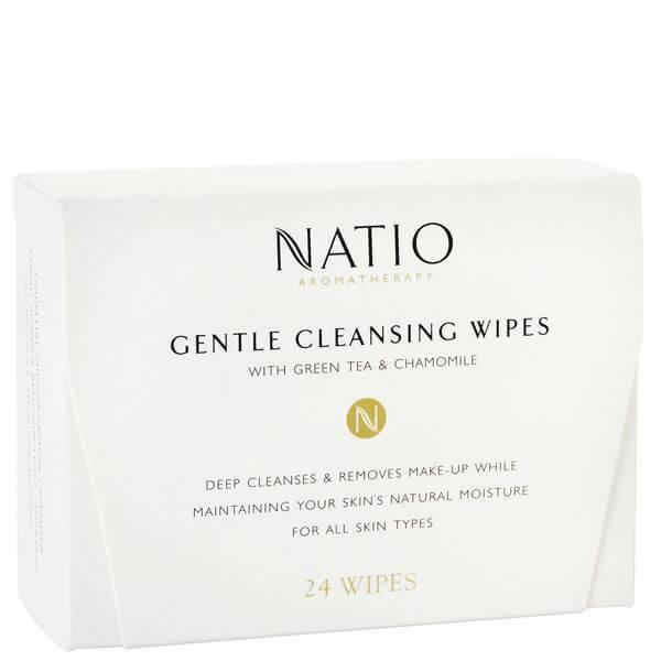 Natio 娜迪奥柔和清洁湿巾(24 片)