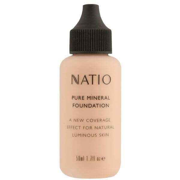 Natio 娜迪奥天然精纯矿物粉底液- 自然色 (50ml)