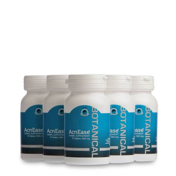 AcnEase Moderate Acne Treatment - 5 Bottles(套装)