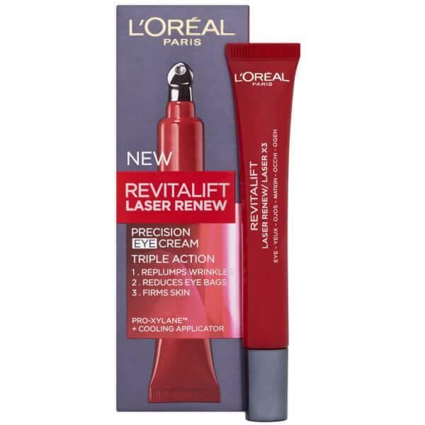 L'Oreal Paris Dermo Expertise Revitalift Laser Renew Precision Eye Cream - 三效合一 (15ml)