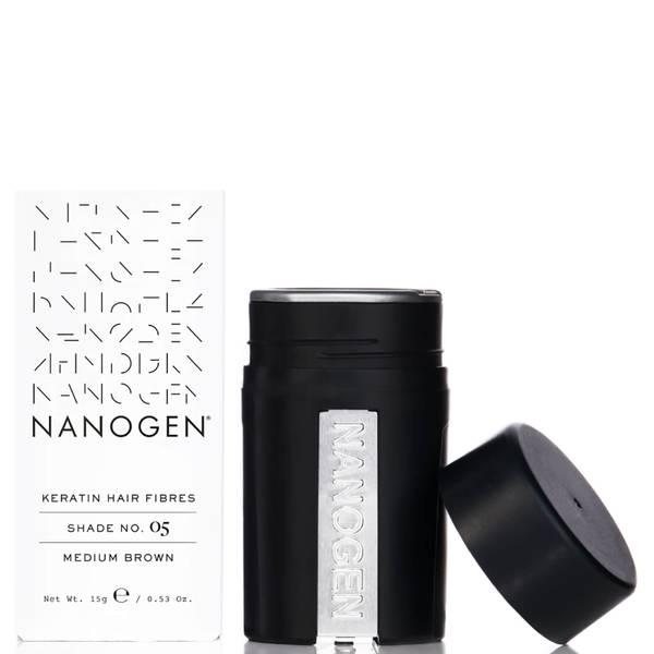 Nanogen 密发纤维 15g | 中度棕发
