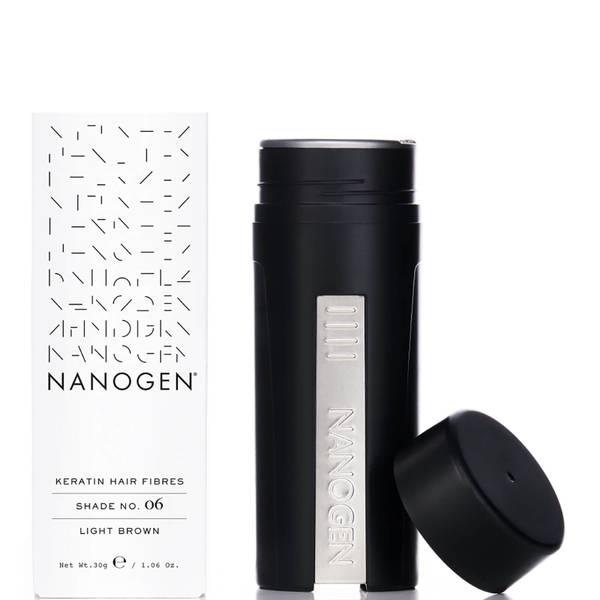Nanogen Hair Thickening Fibres Light Brown (30g)