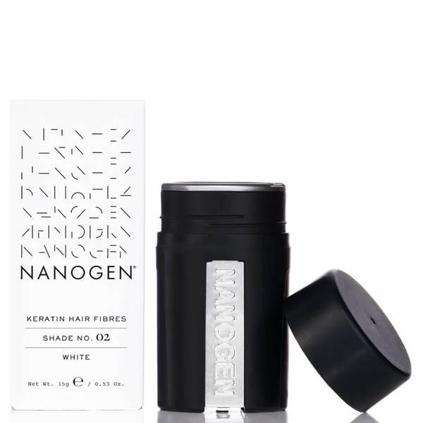 Nanogen Hair Thickening Fibres White (15g)
