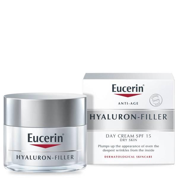 Eucerin® Anti-Age Hyaluron-Filler 日霜,用于干性肌肤的SPF15 + UVA 防护 (50ml)