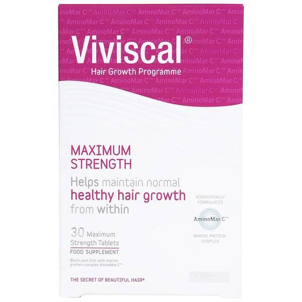 Viviscal最大Strength Supplements(30片)