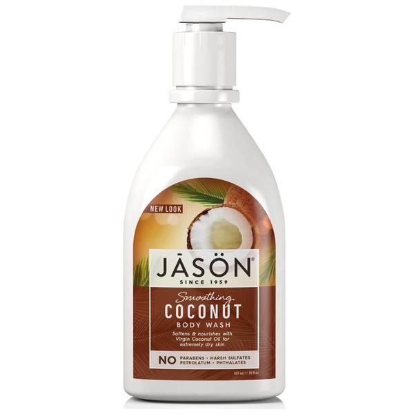 JASON舒缓椰子油沐浴露887ml