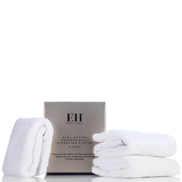 Emma Hardie 专业洁面巾 | 3 片装