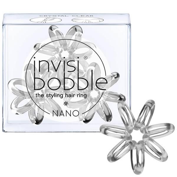invisibobble纳米Hair发绳(3个装) - 水晶Clear