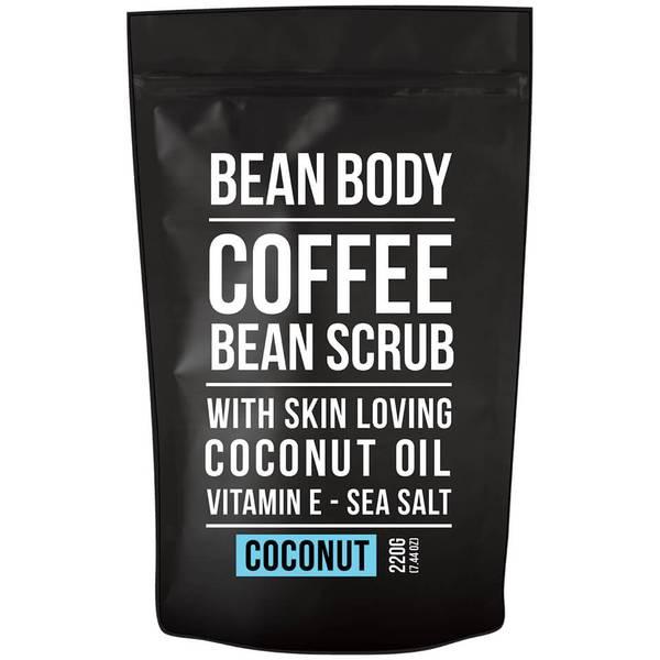 大豆咖啡豆身体磨砂膏 220g——椰浆