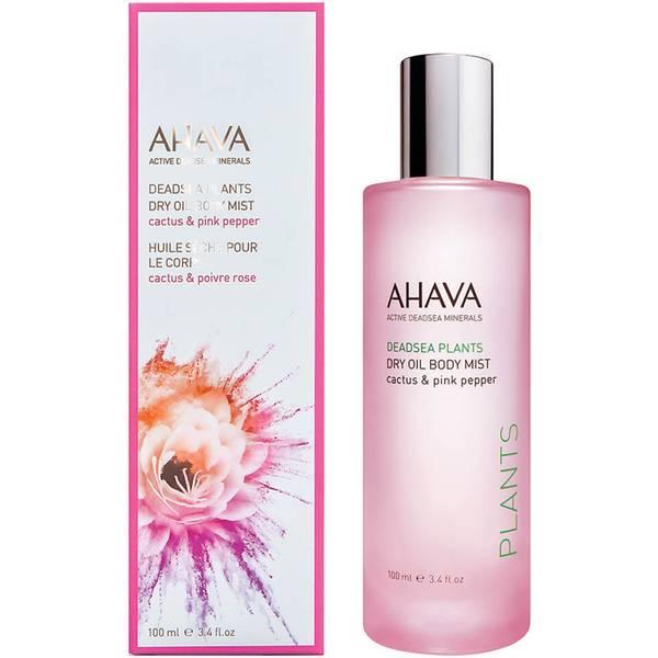 AHAVA 干油身体喷雾 100ml | 仙人掌和粉红胡椒