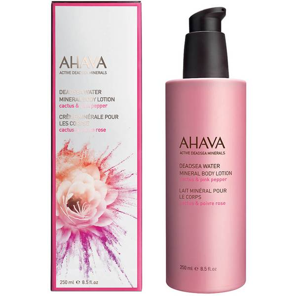 AHAVA 矿物质身体乳 - 粉红胡椒
