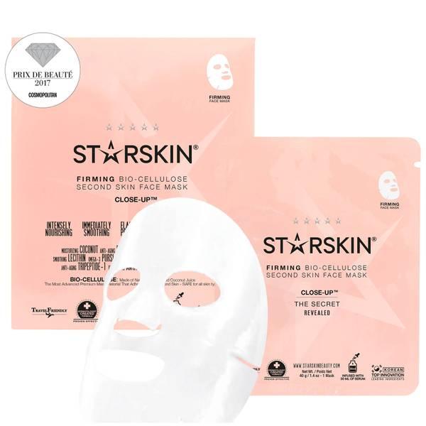 STARSKIN Close-Up™ 椰子生物纤维素第二皮肤紧致面膜