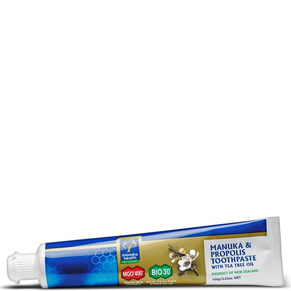 Manuka Health 蜂胶及 MGO 400 Manuka Honey 茶树油牙膏 100g