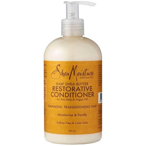 Shea Moisture 非洲原生态乳油木果脂修复免洗护发素 379ml